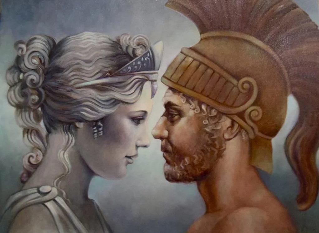 Квадрат Венеры и Марса.